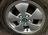 "SKODA FABIA 1.4 AUTO OEM ALLOY WHEEL &TYRE 14"" BREAKING"